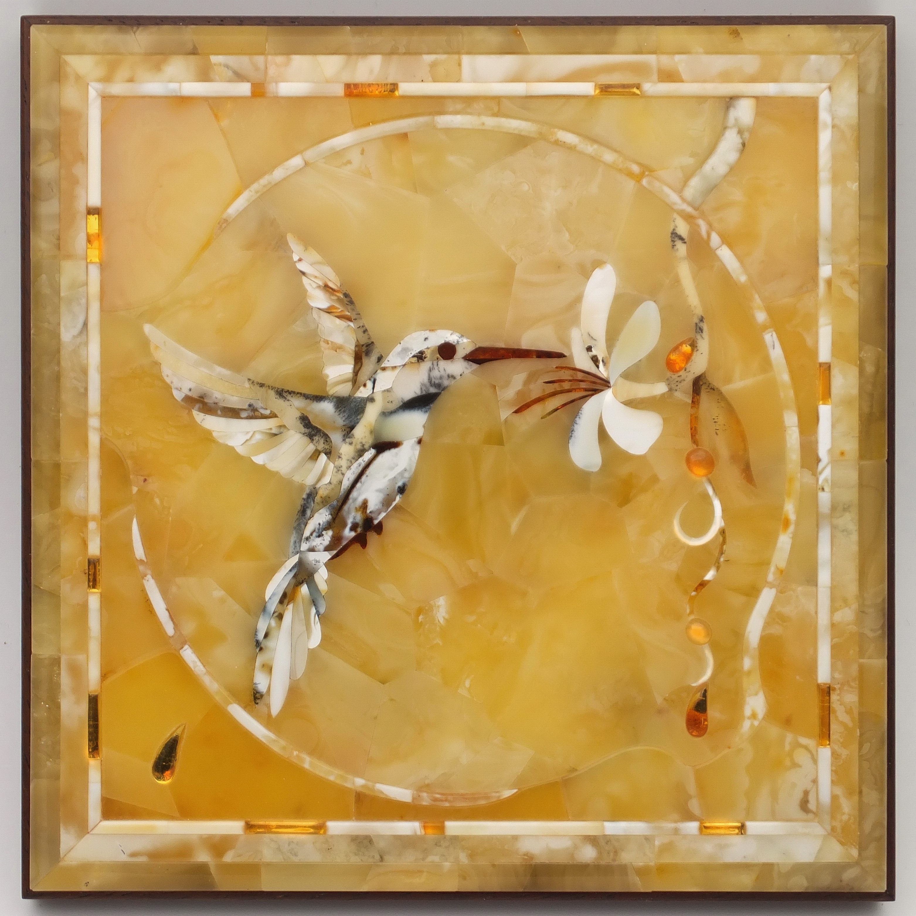 Amber Florentine Mosaic, Amber