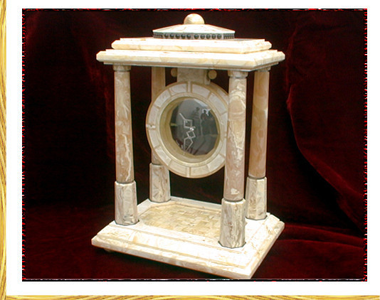 "Amber ""magic"" clock (2005)"