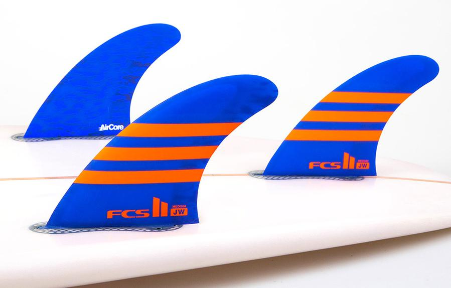 ailerons surf FCS II Guadeloupe