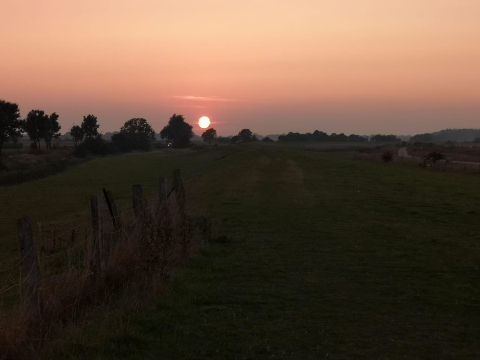 Sonnenuntergang Beltbude