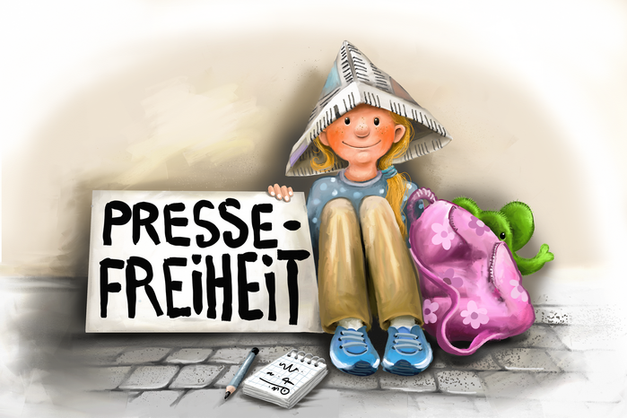 Rosa erklärt's: Tag der Pressefreiheit am 3. Mai 2021