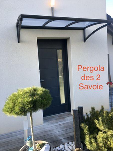 Auvent Marquise Sas D Entree Decofer Alu Pergolas En Savoie Isere Haute Savoie