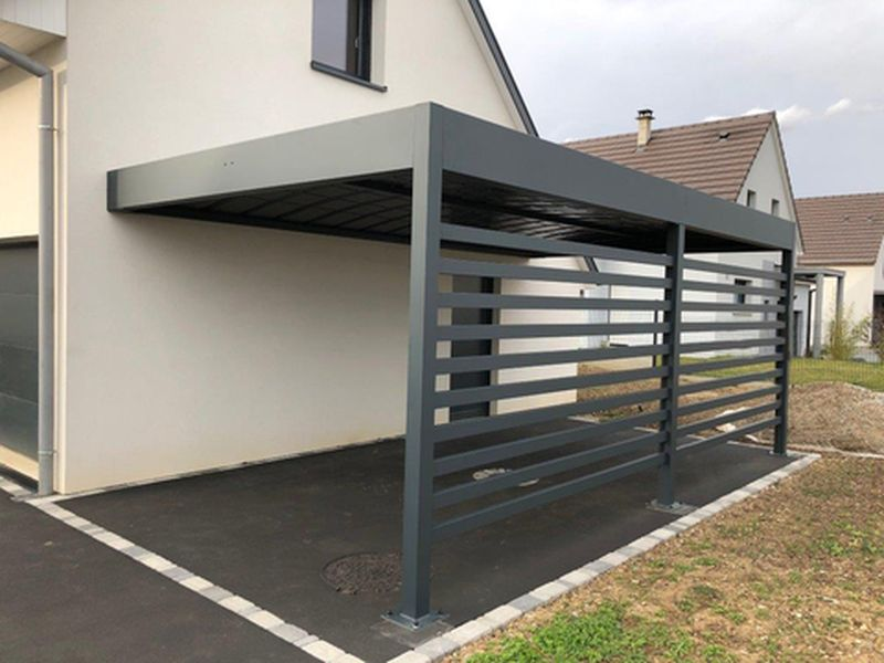 carport abris voiture decofer alu pergolas en savoie is re haute savoie. Black Bedroom Furniture Sets. Home Design Ideas