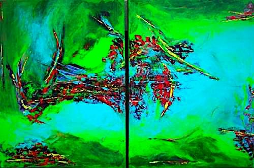 """""""Riparian"""" 2009 - 120 x 80 cm (verkauft)"""