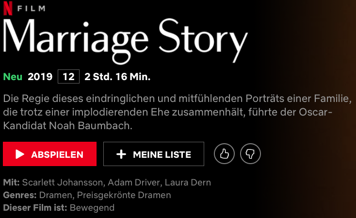 Quelle: Netflix/Marriage Story