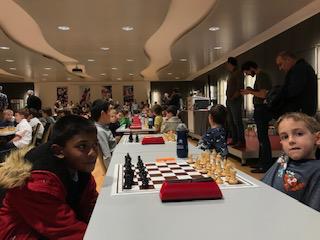 Vishak Chockalingam (DSSP Basel) gegen den CH-Meister Mihaly Köhalmy-Szabo