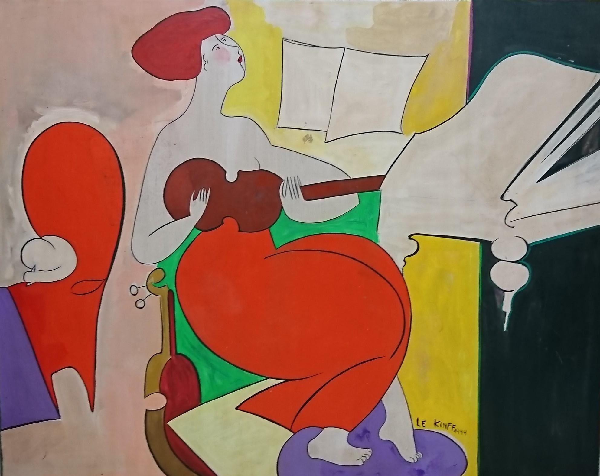 Répétition. 40F. wood. 2003