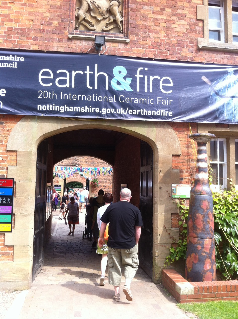 Earth & Fire 2014, Rufford Abbey, UK