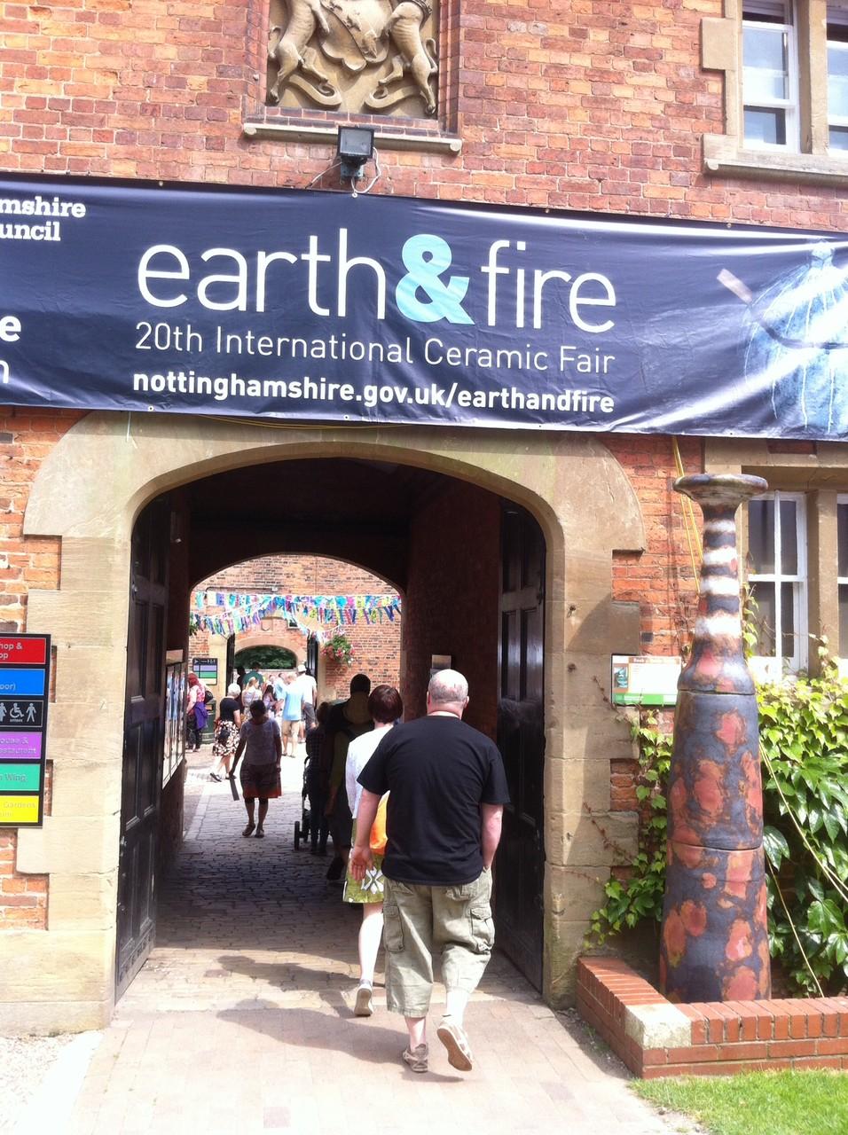 Earth & Fire 2014, Rufford Abbey, UK