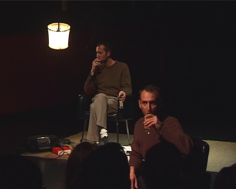 Photo extraite d'une captation vidéo de David Bernagout