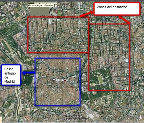 El Madrid del XIX , los ensanches(video)