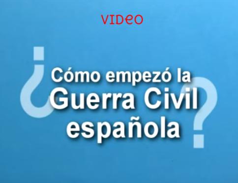¿cómo empezó la guerra civil española?