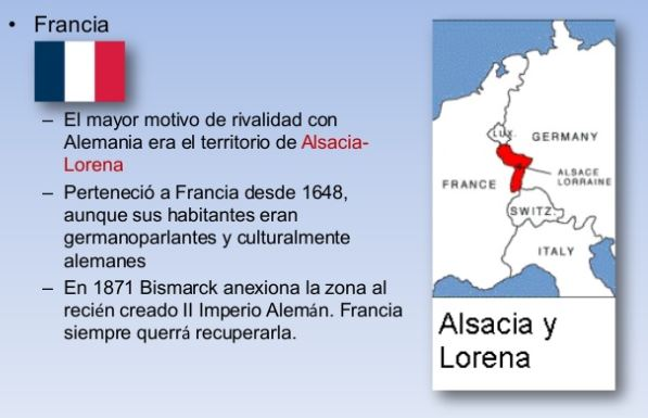 problema de Alsacia y Lorena(enlace)
