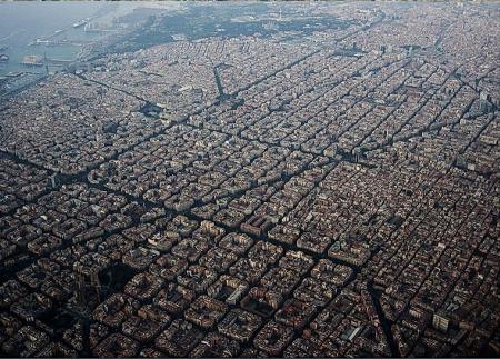 ciudades del XIX , ensanche burgués de Barcelona