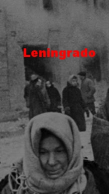 el hambre en Leningrado