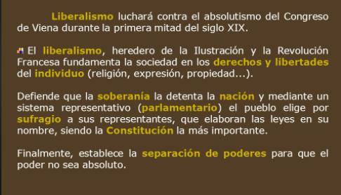 Bases ideológicas:EL LIBERALISMO