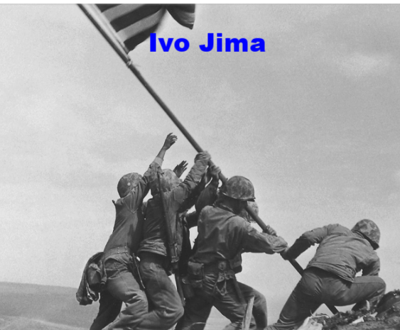 batalla de Iwo Jima (fotos)