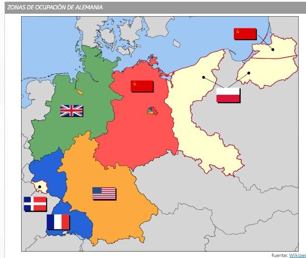 territorios ocupados en Alemania