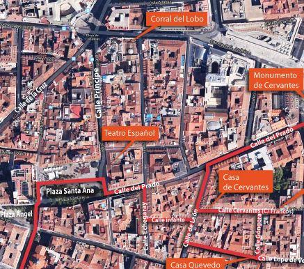 el Madrid del siglo de oro