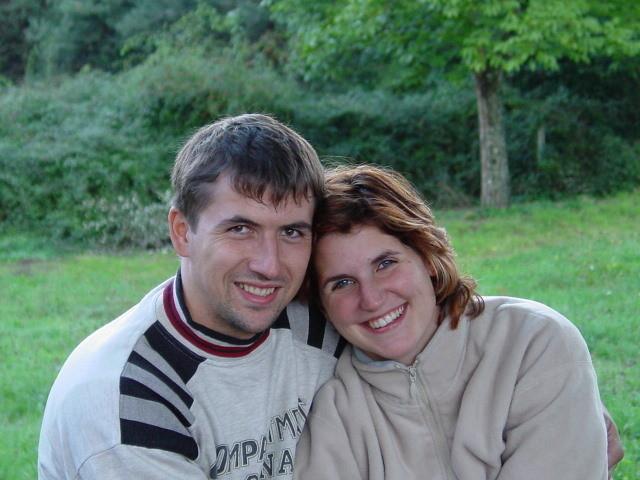 Tochter Yvonne mit Ehegatten Bruno