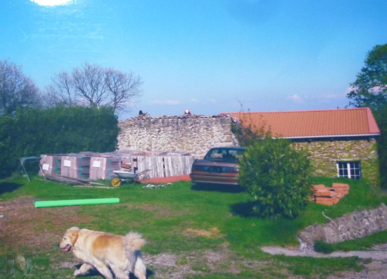 Erstes Dach welches 2001 gemacht wurde mit Baba und Bonova