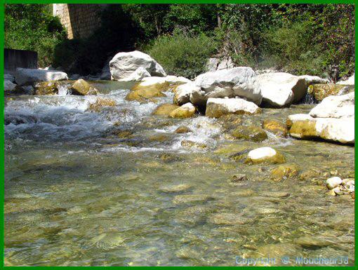 Le Buech, rivière pour la pêche