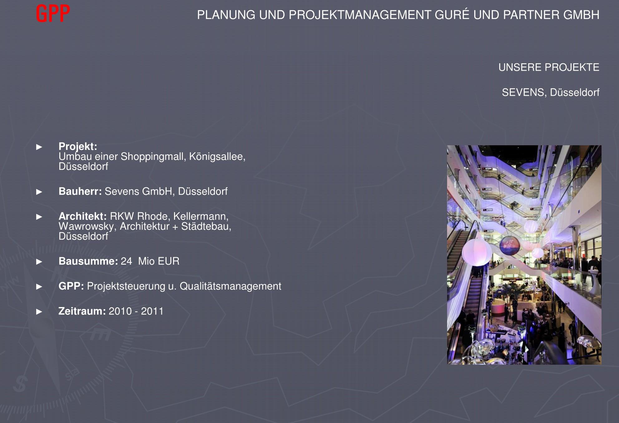 GPP: Projektsteuerung u. Qualitätsmanagement
