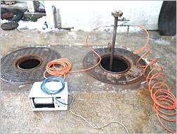 地下タンク検査