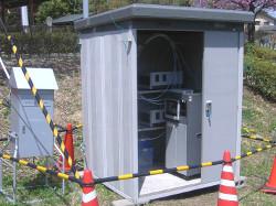環境大気測定装置(外観)