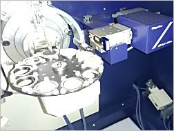 X線回析装置内部