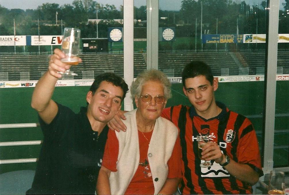 Alex, Trude und Bertl - Fanclub-Legenden unter sich