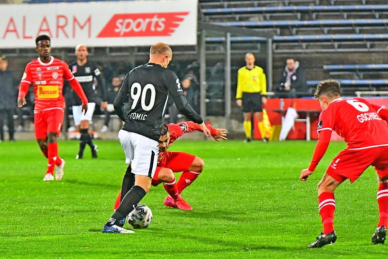 Tomislav Tomic verstärkte die Admira im zentralen Mittelfeld