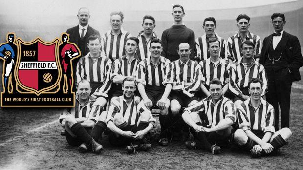 FC Sheffield ist der älteste Verein der Welt, gegründet im Jahr 1857