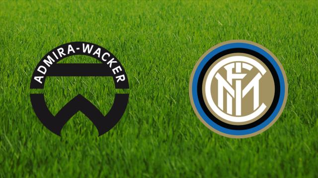 Admira Wacker gegen FC Internazionale Milano