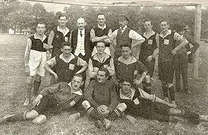 Gründungsmannschaft Admira im Jahr 1905