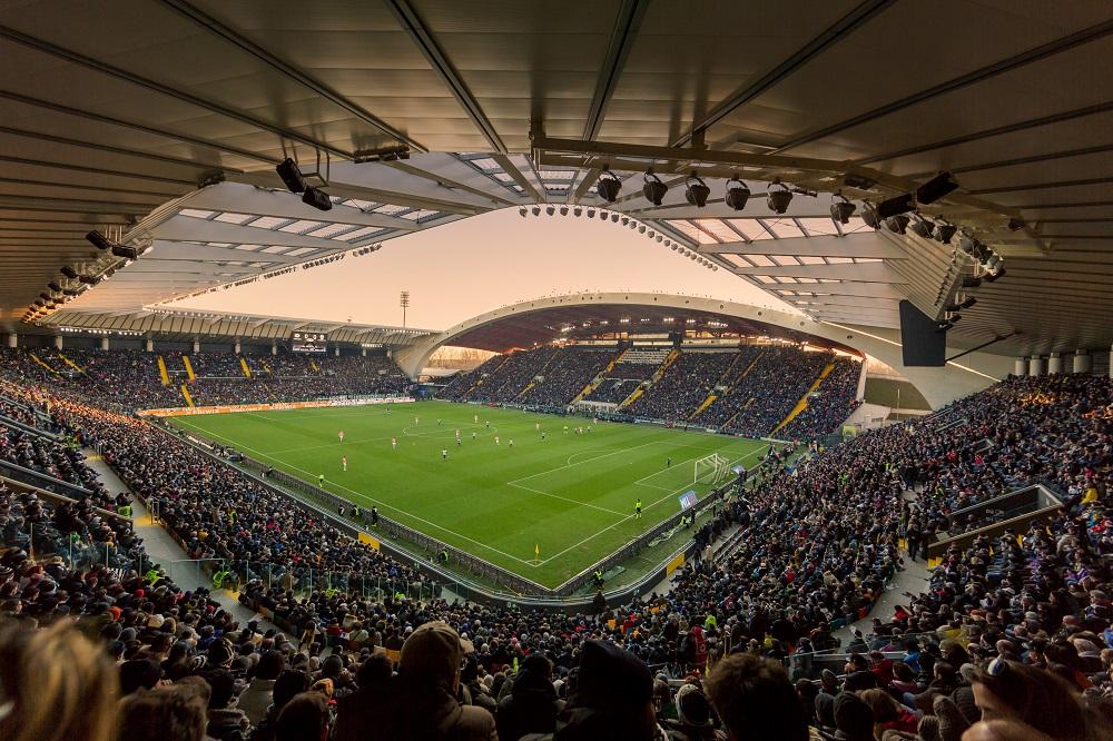 Im Stadion in Udine spielte die U21 Nationalmannschaft gegen Dänemark und Deutschland
