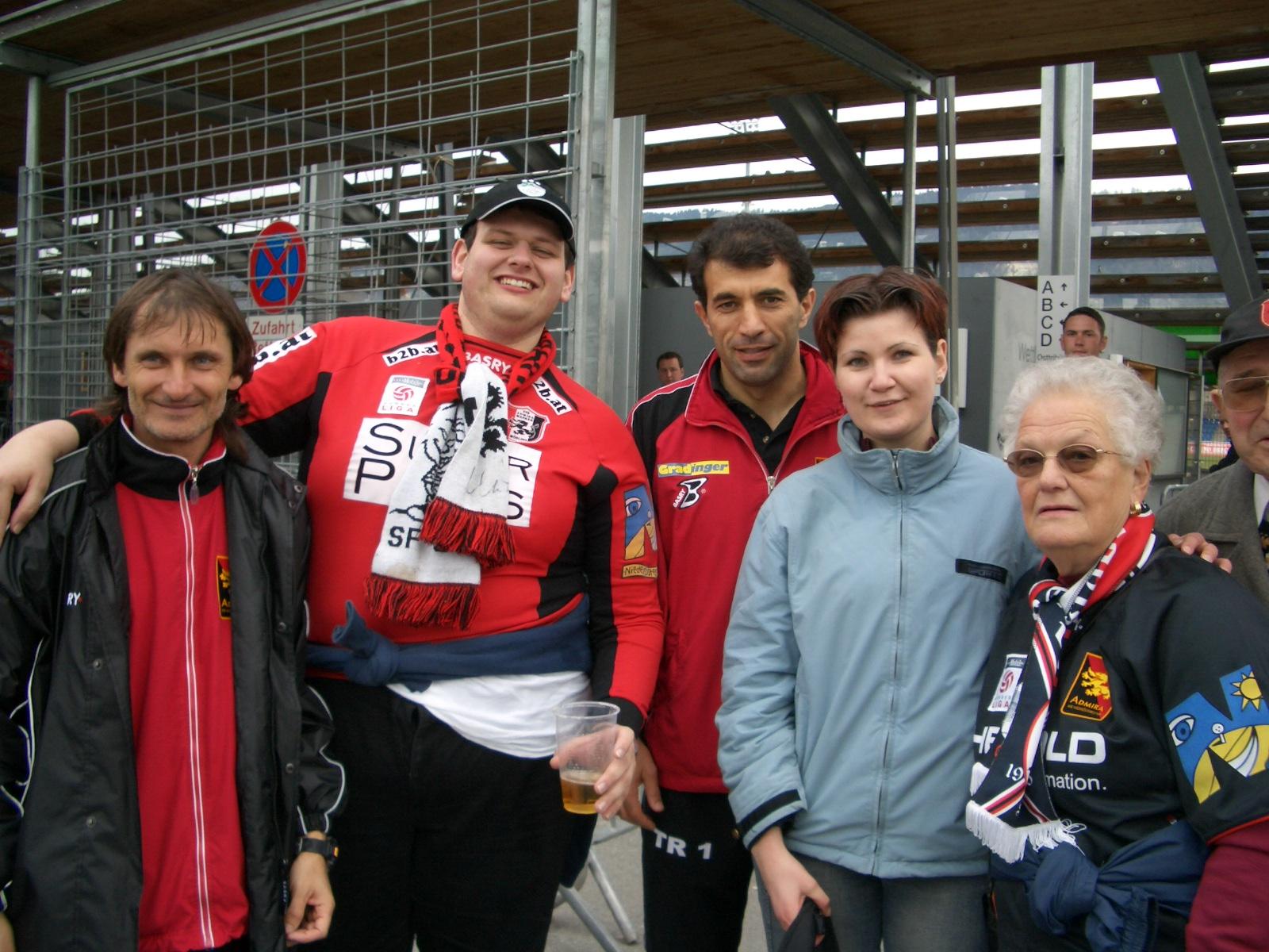 Auch unser ehemaliges Trainerduo Rachimov/Tatar durfte die Fraktion Oberbayern kennenlernen!