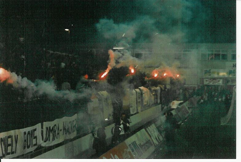 90er Jahre Europacup-Stimmung in der Südstadt