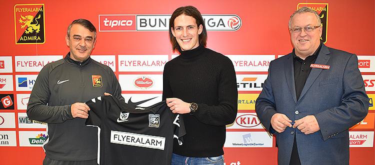 Datkovic wurde Teil des Kaders bei Admira Wacker