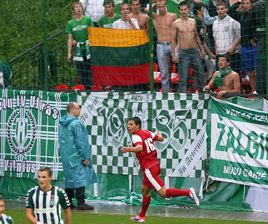 Hosiner netzt in Litauen