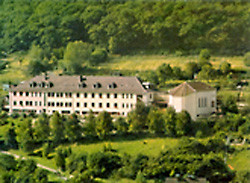 Das Gebäude im Jahr 1954