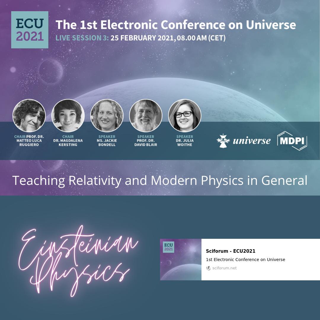 ECU2021 Live Sessions