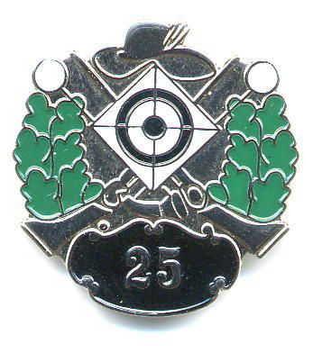 25 Jahre Vereinsmitglied