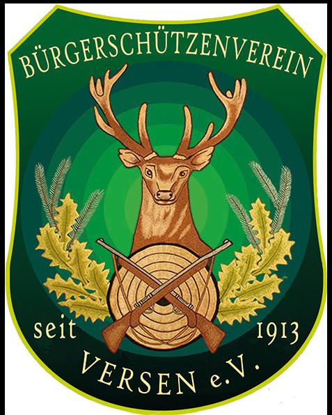 Vereinswappen der Bürgerschützenvereins Versen e.V.