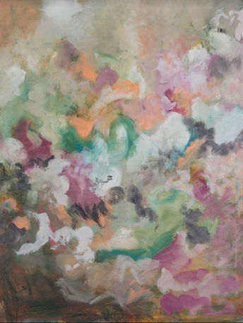 """o.T."" 100 x 130 cm - Öl auf Leinwand"