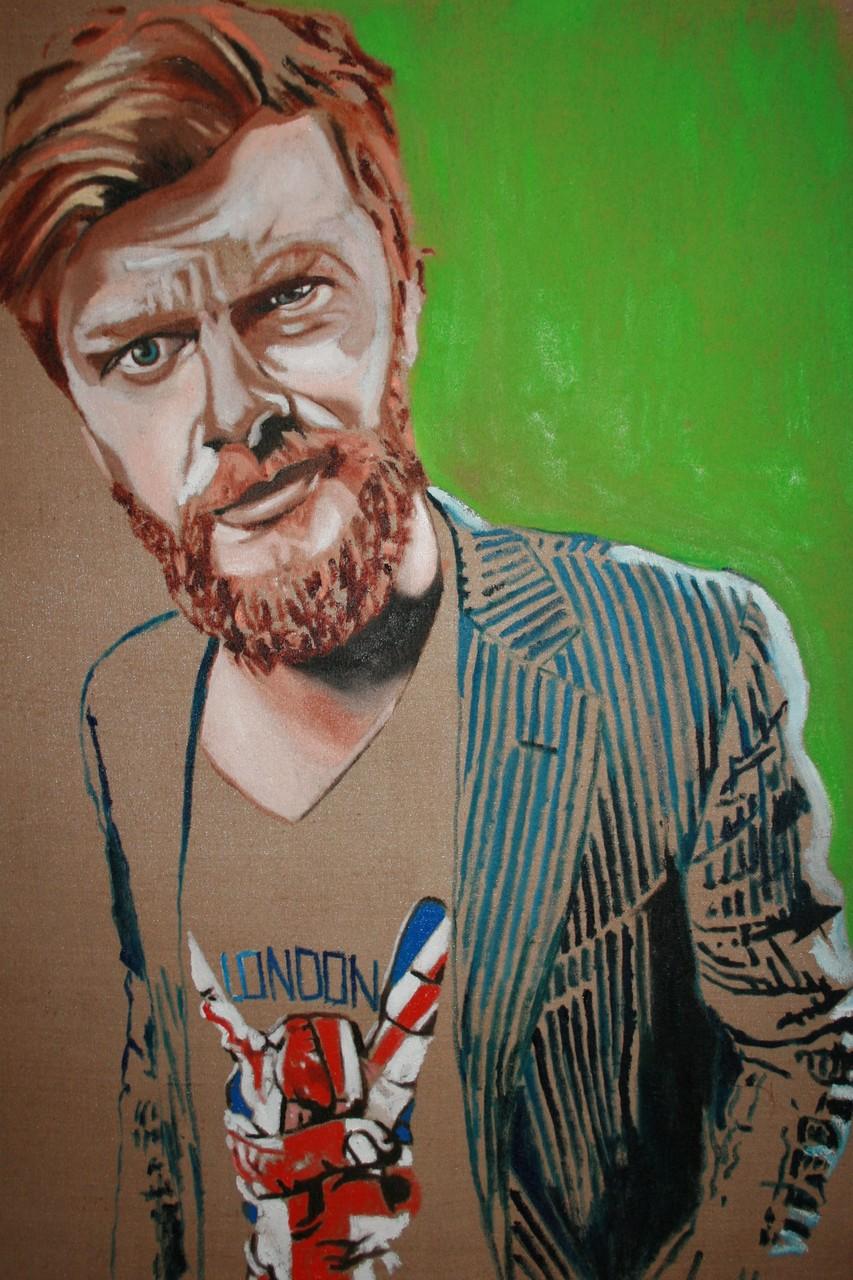 """London"" 180 x 145 cm - Öl auf Leinwand"