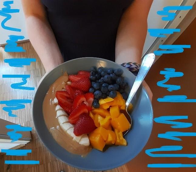 ... gesunde Ernährung - meistens ... okay auch nur manchmal ;-)