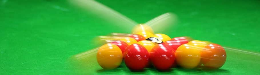 Pool Table Balls & Cues