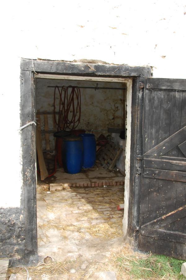 Alter Eingang zum Stall