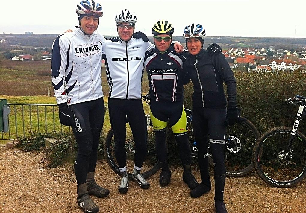 MTB cruisen mit Lothar & Nicole Leder und Karl Platt